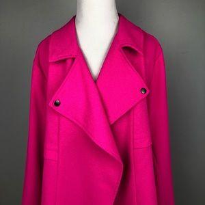 Torrid Moto style jacket blazer hot pink